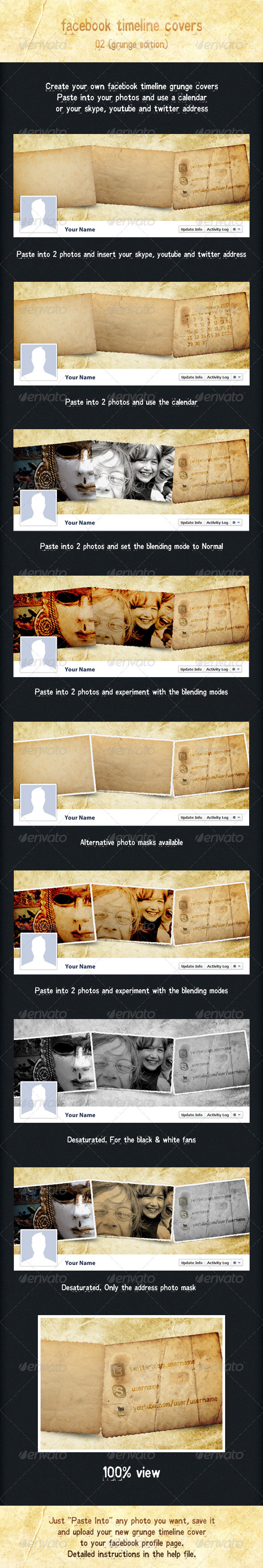 GraphicRiver Facebook Timeline Covers Vol.2 1329798