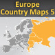 Europe. Country maps - part 5 - GraphicRiver Item for Sale