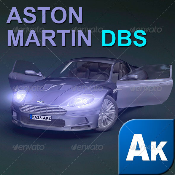 Aston Martin DBS - 3DOcean Item for Sale