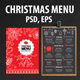 Christmas Restaurant Templa-Graphicriver中文最全的素材分享平台