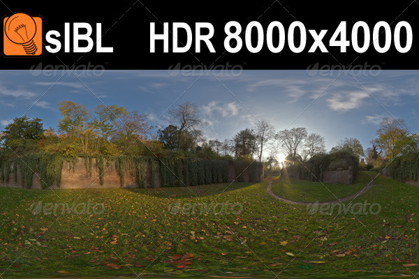 sIBL Brick Wall HDR Panorama