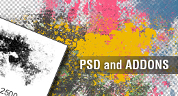 Photoshop PSDs and Addons