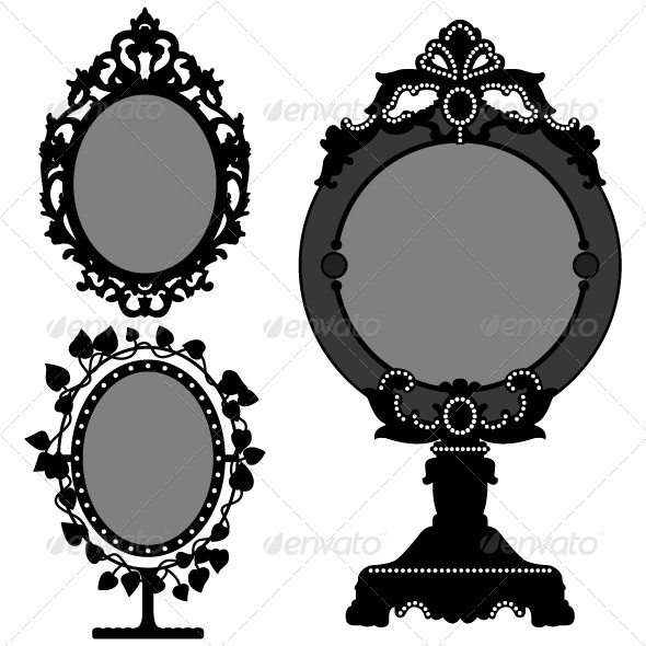 Mirror design graphicriver for Image miroir photoshop