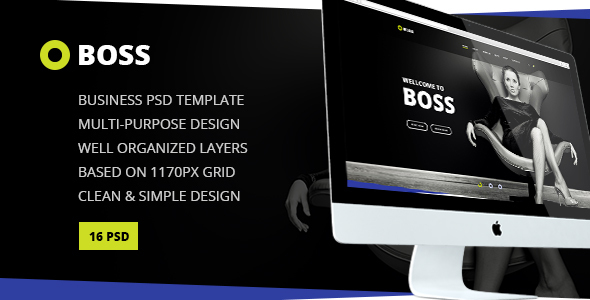دانلود THE BOSS CORPORATE BUSINESS HTML TEMPLATE - 15