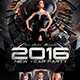 New Years Eve Party Flyer T-Graphicriver中文最全的素材分享平台