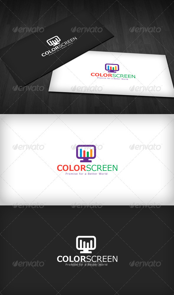Color Screen Logo - Symbols Logo Templates