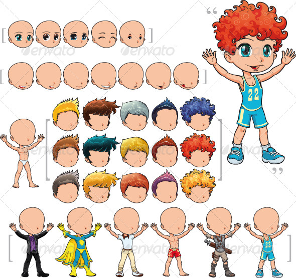 Avatar Boy GraphicRiver - Vectors -  Characters  People 160313 torrent