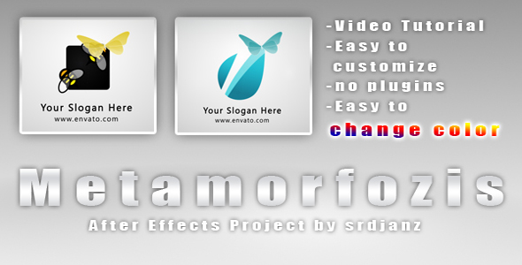 After Effects Project - VideoHive Logo Opener Metamorfozis 161006