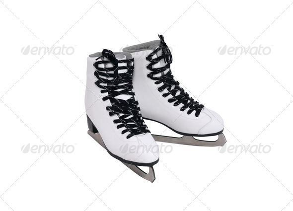 Ice Skating Shoes - Stock Photo - Images