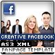 Creative Facebook Fanpage Template - ActiveDen Item for Sale
