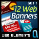 Web Banners Set 1 - GraphicRiver Item for Sale