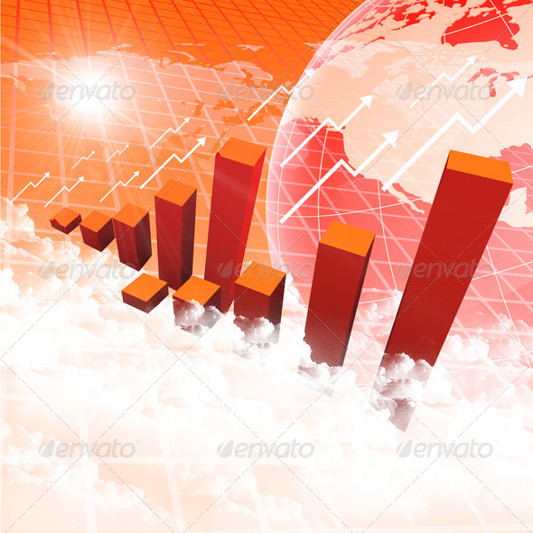 business chart and graphs - Stock Photo - Images