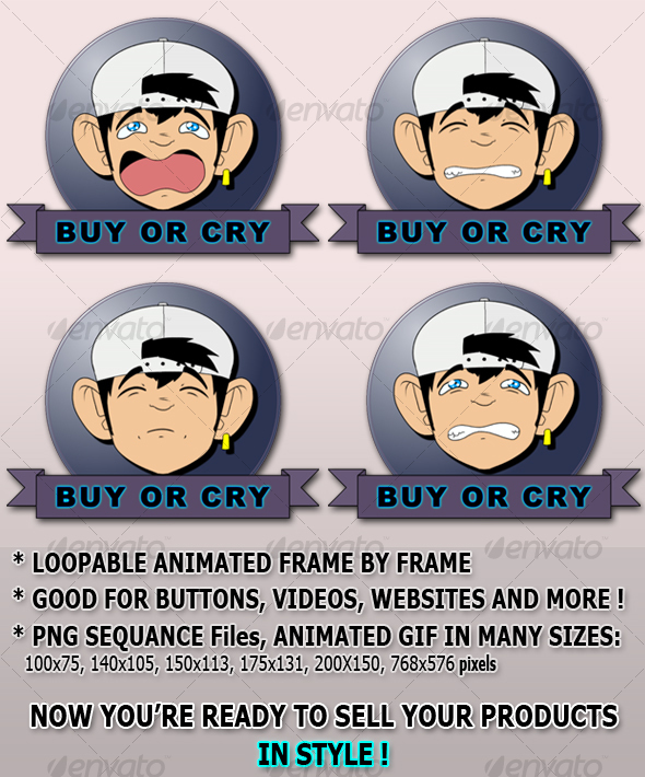 Buy or Cry - (ANIMATED BONUS!) - Miscellaneous Graphics