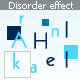 Disorder effect - ActiveDen Item for Sale