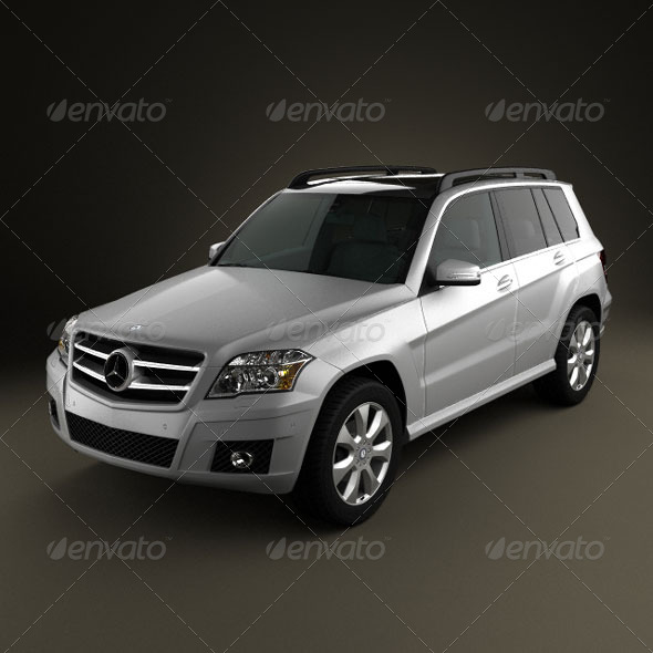 3DOcean Mercedes-Benz GLK 2010 161485