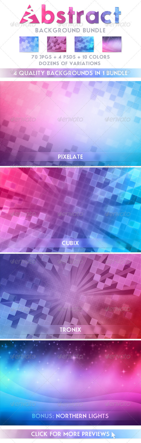 Abstract Background Bundle - Abstract Backgrounds