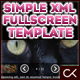The Simple n Easy Fullscreen XML Gallery Template - ActiveDen Item for Sale