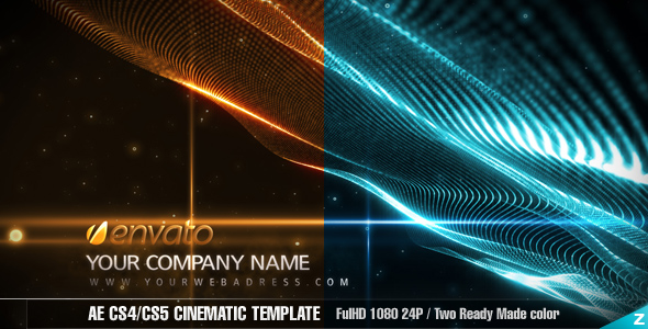 After Effects Project - VideoHive AE Cinematic Template 161720