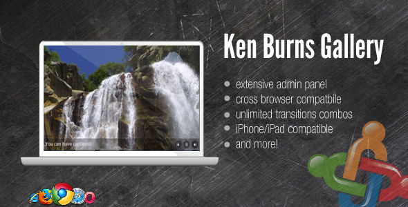 CodeCanyon DZS Ken Burns Gallery w Admin Panel For Joomla 161814