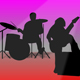 Music Band Silhouette - ActiveDen Item for Sale