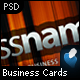 Sleek Business Card (7 colors) - GraphicRiver Item for Sale