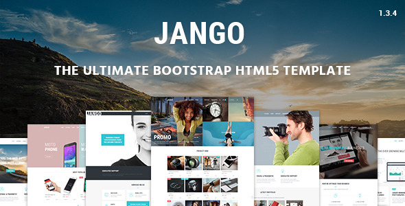 Jango - Responsive Bootstrap HTML5 Template