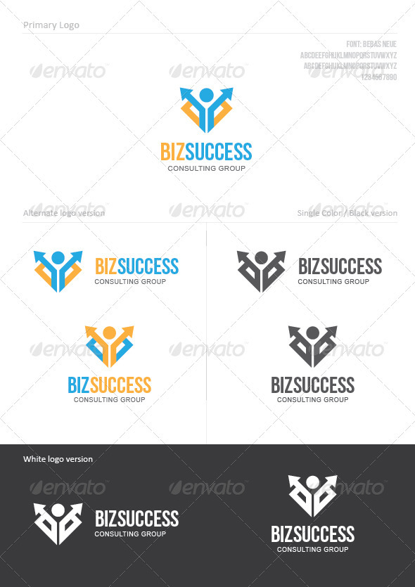 Business Success - Symbols Logo Templates