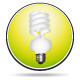 Green saving energy lightbulb icon - GraphicRiver Item for Sale