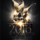 NYE Luxury Flyer Template-Graphicriver中文最全的素材分享平台