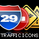 Traffic Icons - GraphicRiver Item for Sale