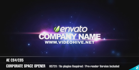 After Effects Project - VideoHive AE Corporate Space Opener 162307