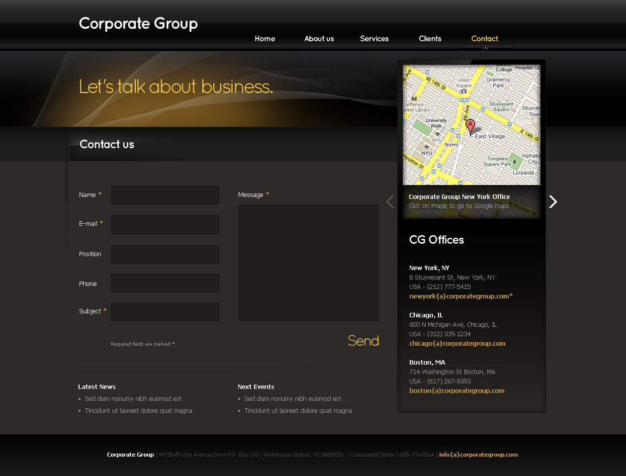 Business Template #03
