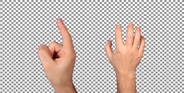 [VideoHive 1358627] Touch Screen Finger Movements Pack  | Stock Footage