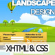 Landscape Design Drawn styled XHTML & CSS Template - ThemeForest Item for Sale