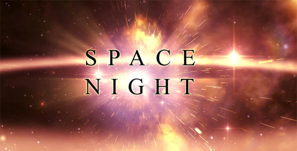 After Effects Project - VideoHive Space Night Title Opening 162569