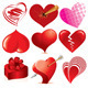 Stylized Hearts - GraphicRiver Item for Sale