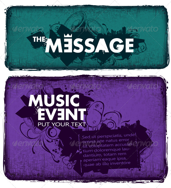 GraphicRiver Modern Sketchy Style Musical Poster 162763