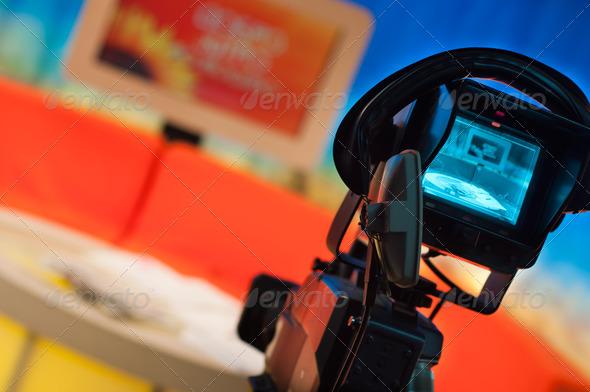 PhotoDune Television studio 1362354