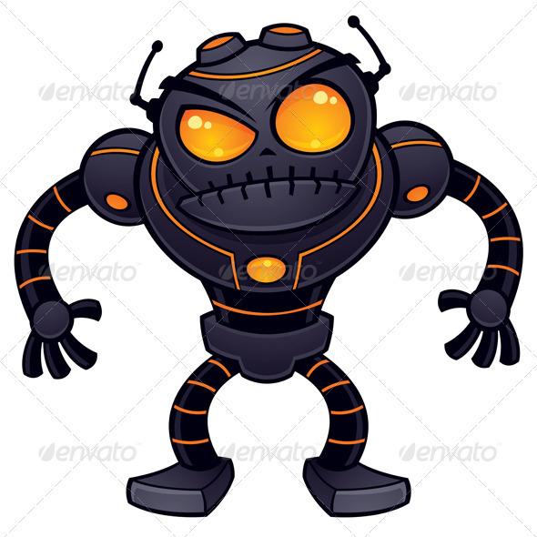 GraphicRiver Angry Robot 1365086