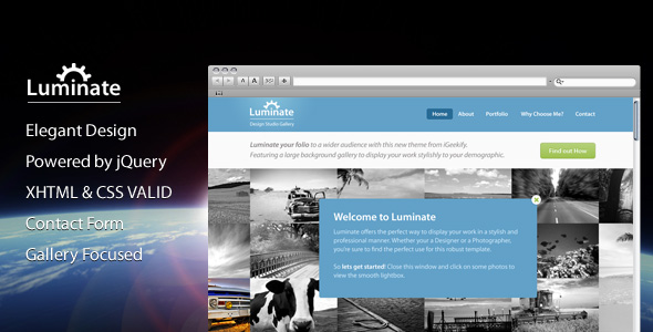 Luminate - Website Site Template