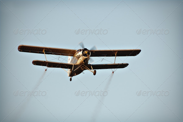 Biplane - Stock Photo - Images
