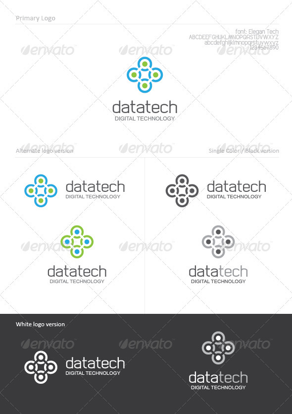 Data Tech - Abstract Logo Templates