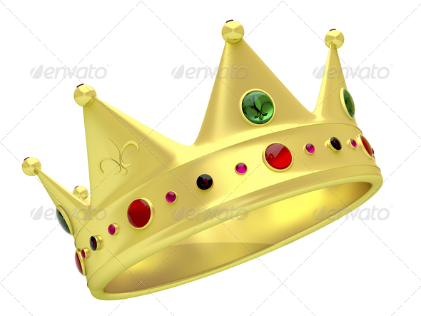 Stock Photo - PhotoDune Golden crown 1369071