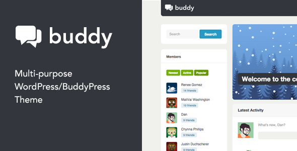 Buddy 2.9.1 - Multi-Purpose WordPress/BuddyPress Theme
