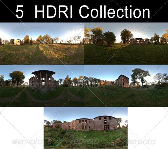3DOcean HDRi Pack Ruin 1369691