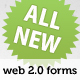 Web 2.0 Registration Forms - GraphicRiver Item for Sale