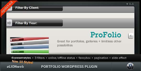 CodeCanyon Portfolio Premium WP Plugin 154612