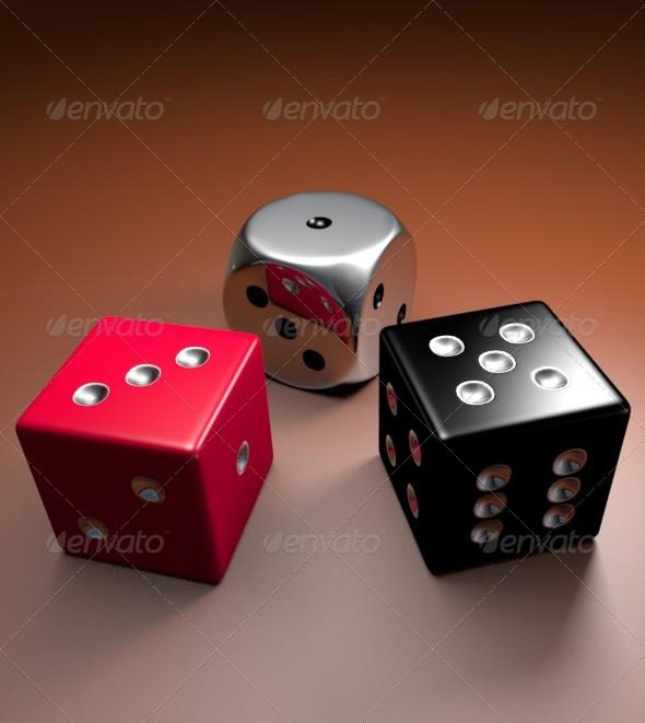 Dice 3d Models Graphicriver