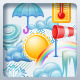 Weather Icon Set and Calendar - GraphicRiver Item for Sale