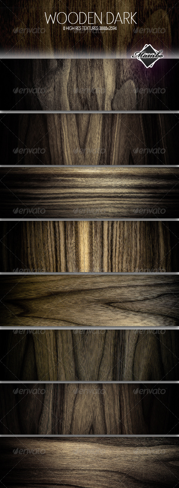 Wooden Dark - Wood background textures - Wood Textures